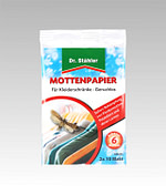 Mottenpapier Dr Stähler
