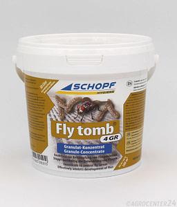 Fly Tomb 4GR Granulat Fliegenmaden Schopf Hygiene