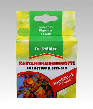 Kastanienminiermotte Lockstoffdispenser Dr Stähler