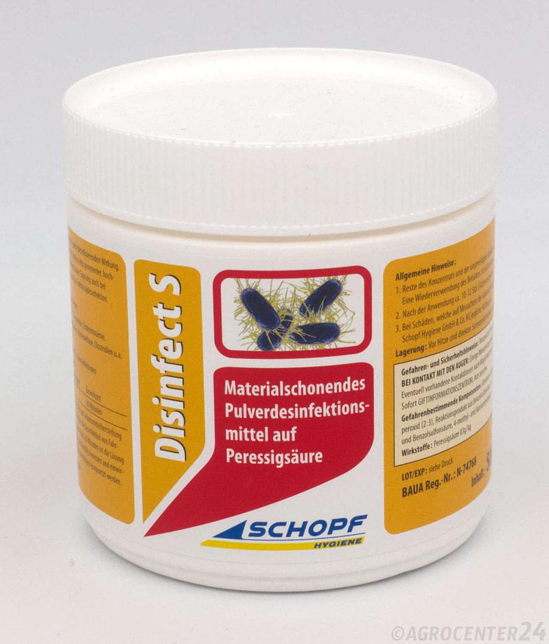 Disinfect S Pulver Desinfektionsmittel Schopf Hygiene