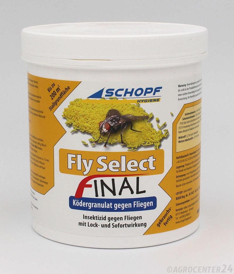 Fly select final Ködergranulat. Schopf Hygiene