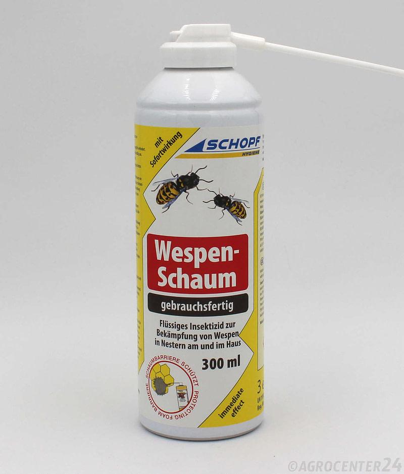 Wespenschaum Wespenbekämpfung Schopf Hygiene