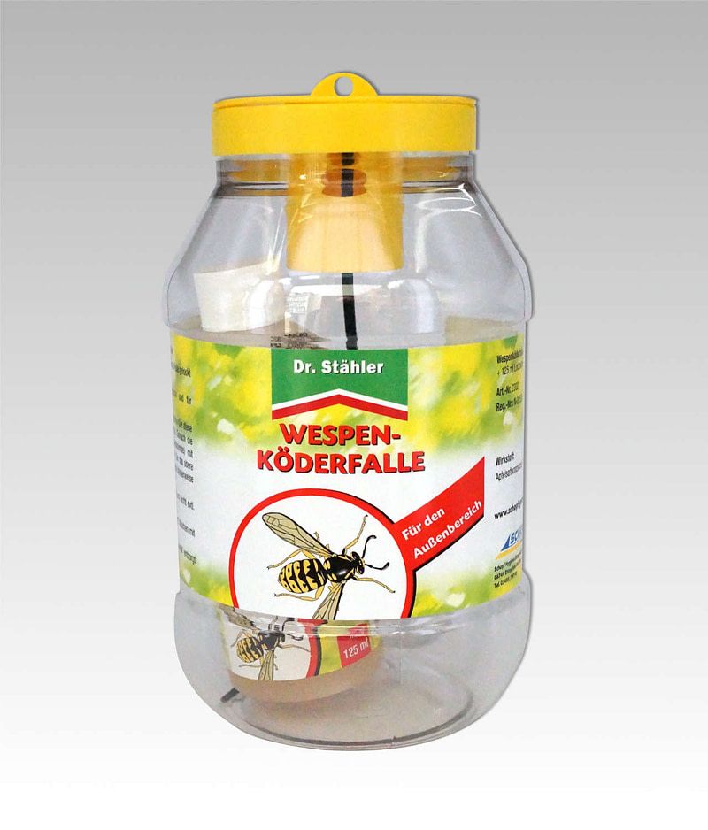 Wespenköderfalle Dr Stähler