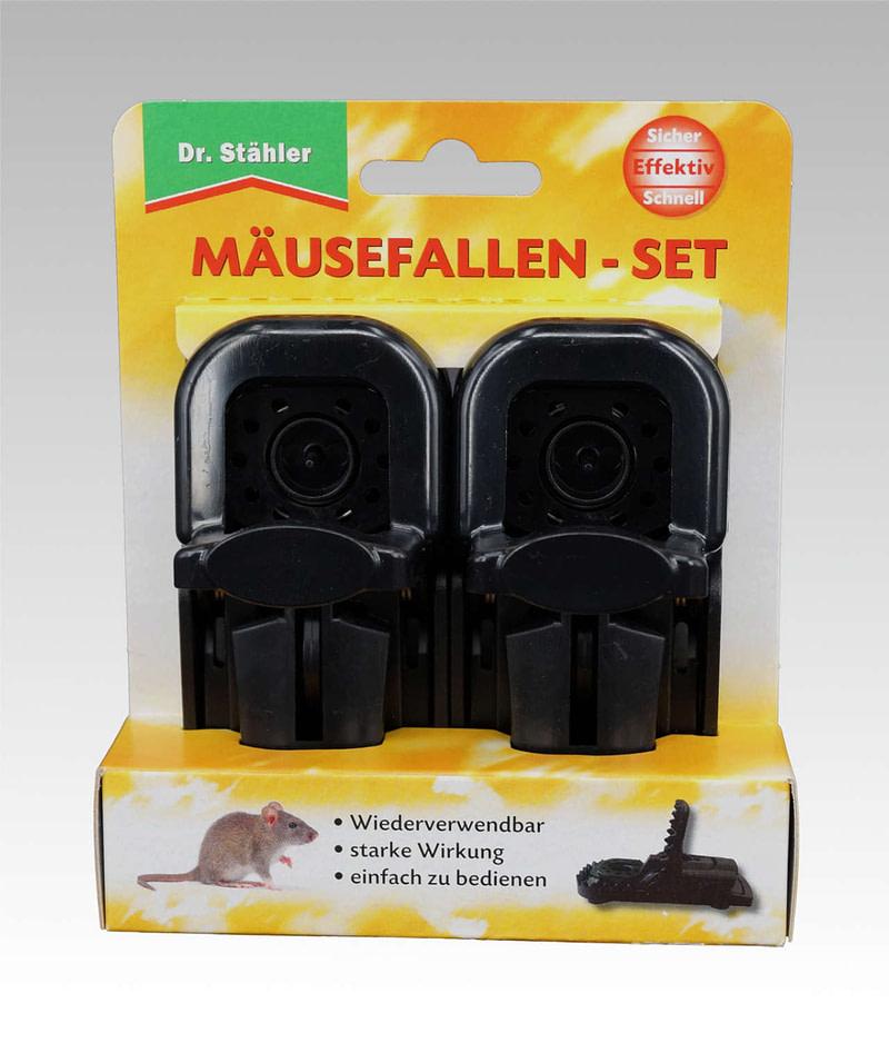 Mäusefallen Set Dr Stähler