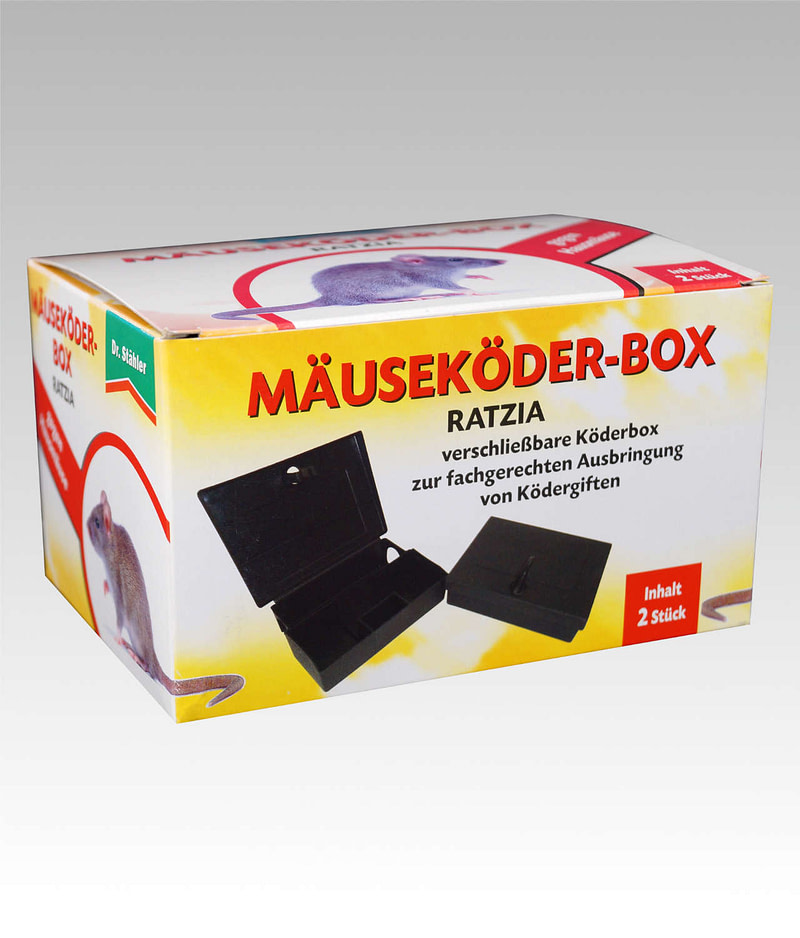 Ratzia Mäuseköder Box Dr Stähler