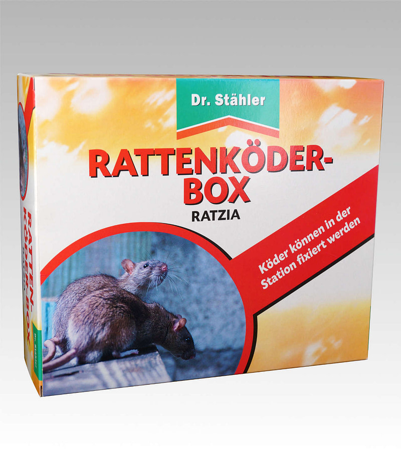 Ratzia Ratten Köderbox Dr Stähler