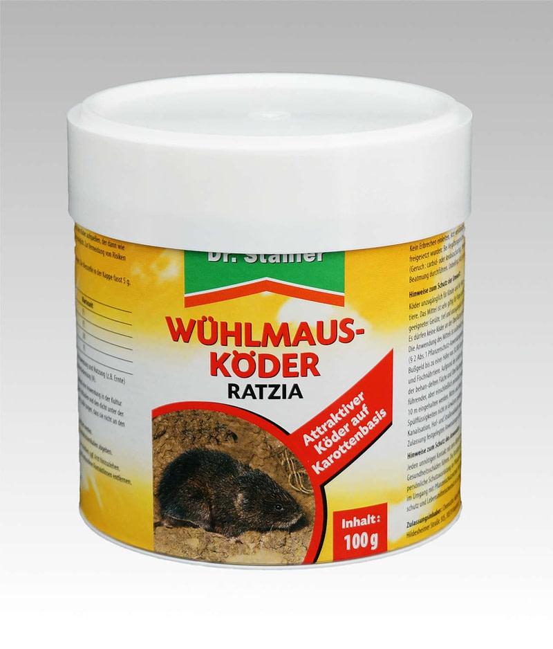 Wühlmausköder Ratzia Dr Stähler